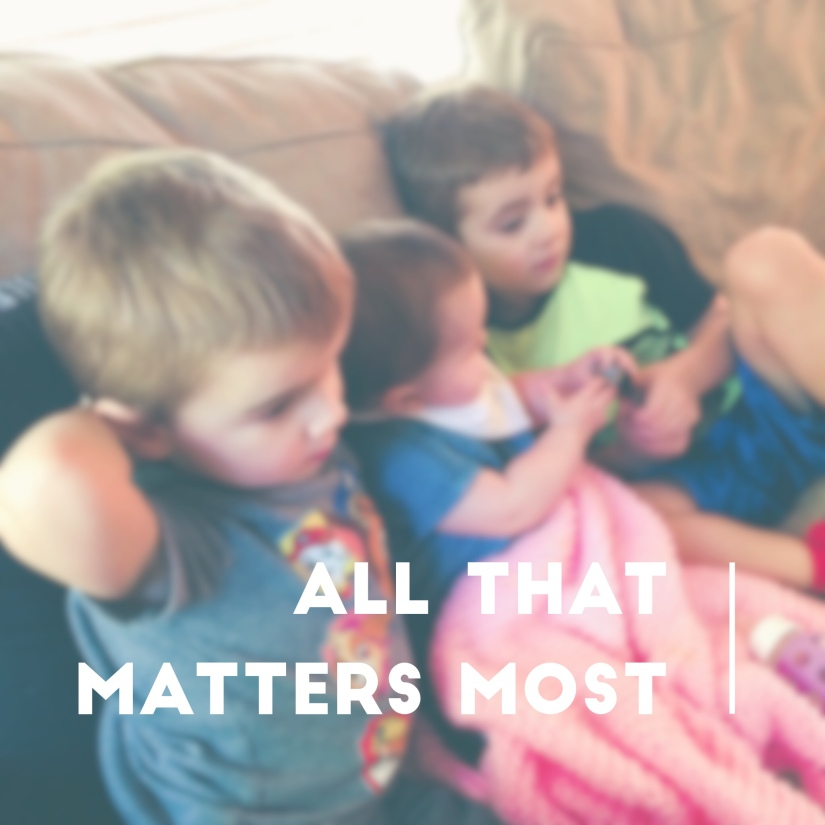 All That MattersMost