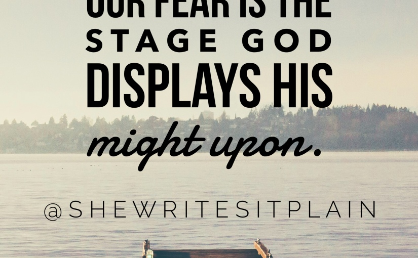 Fear is the Final Defense Tactic Against God's Goodness