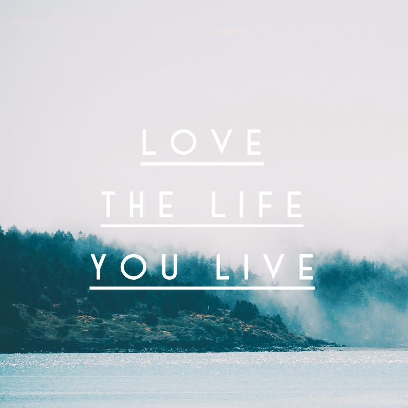 It's OK to Live the Live YouWant