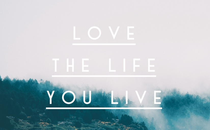 It's OK to Live the Live You Want